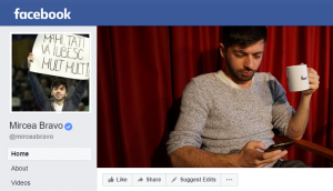 Mircea Bravo - pagina facebook